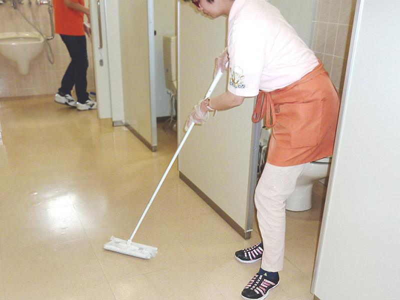建物清掃のイメージ写真