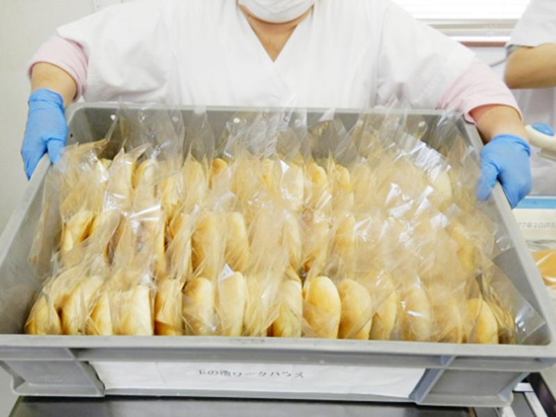 製パンのイメージ写真