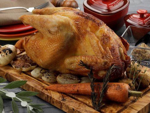 写真:比内地鶏ローストチキン
