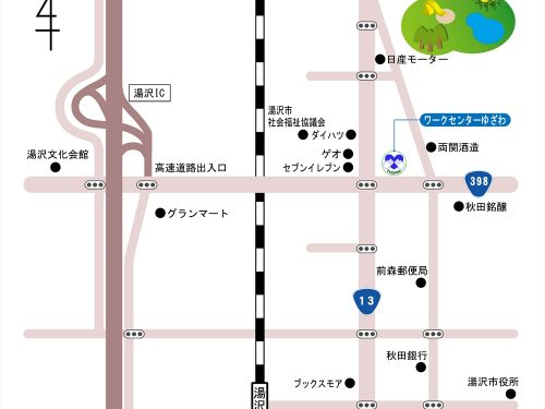 画像:周辺地図