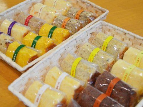 写真:シフォンケーキ1カット