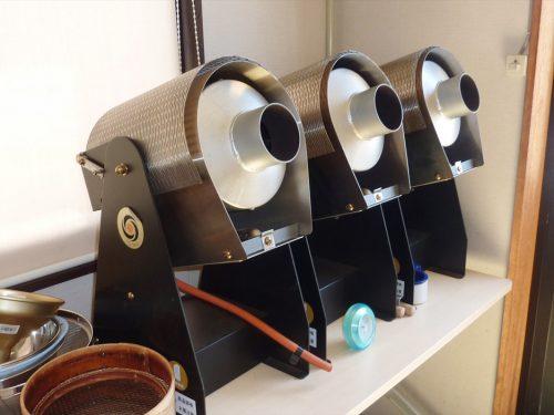 写真:コーヒー焙煎の機械1