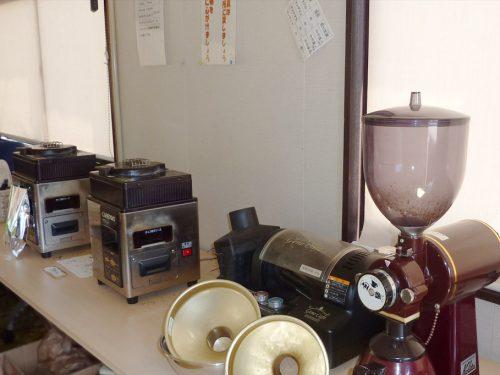 写真:コーヒー焙煎の機械2
