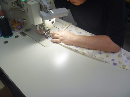 写真:縫製室