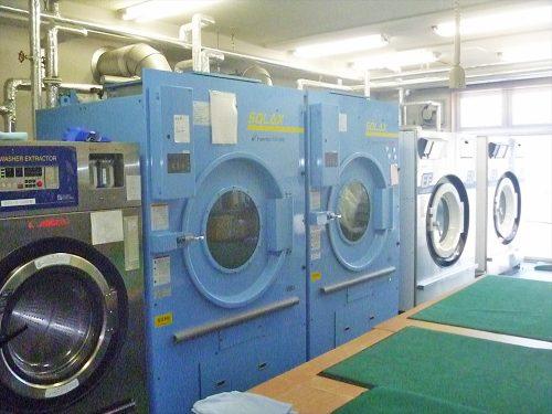 写真:洗濯室