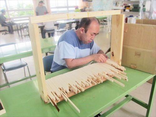 写真:木工端材まとめ